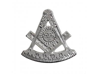 Freemasons Masonic Past Master Lapel Pin