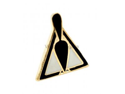 Freemasons Trowel Cryptic Masonic  Lapel Pin
