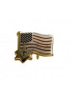 Freemasons United States Flag and Masonic SC&G Lapel Pin