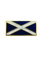 Scottish Flag Saltire Lapel Pin