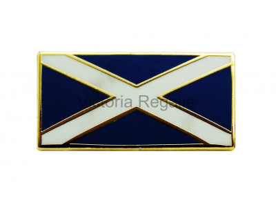 Freemasons-Scottish Flag Saltire Masonic Lapel Pin
