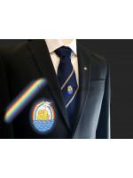 Royal Ark Mariner Woven Masonic Tie - Navy