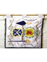 Banner  - Hand embroidered  - Royal Order of Scotland
