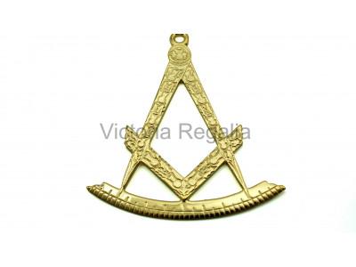 Past Master Craft Collar Jewel - Scottish Constitution