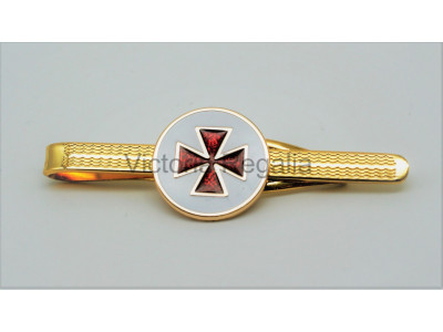 Masonic Scottish Knights Templar Freemasons Tie Slide