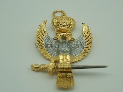 33rd Degree Collarette Jewel eagle - English Constitution