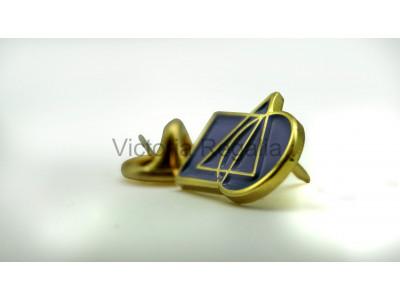 Freemasons Cryptic Masonic Lapel Pin