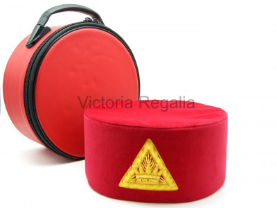 Cap Case for Royal Arch and Other Freemasonry Masonic Orders