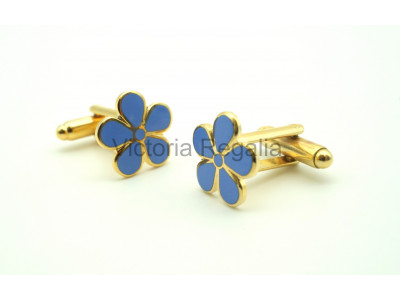 Freemasons Forget Me Not Masonic Cufflinks