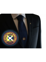 Ye' Ancient Order of Noble Corks Navy Tie