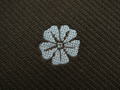 Forget Me Not Woven Tie - Black