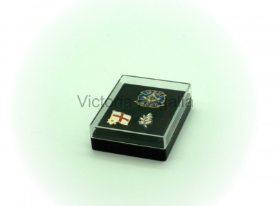 Selection of Three (3) Masonic Lapel Pins in Presentation Box