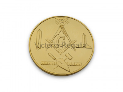Freemasons Masonic Pocket Coin