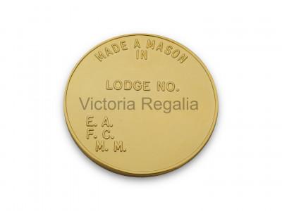 Freemasons Masonic Pocket Coin