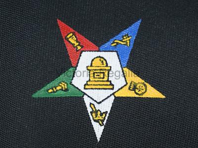 Order of Eastern Star Tie - Black