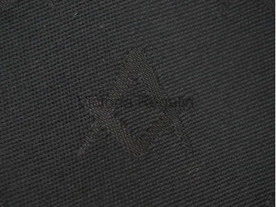 Black Square and Compass Tie with Discreet Pattern Design