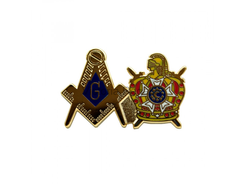 DeMolay Freemasons Masonic Lapel Pin