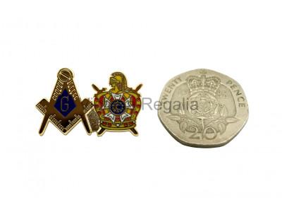 DeMolay Freemasons Masonic Lapel Pin