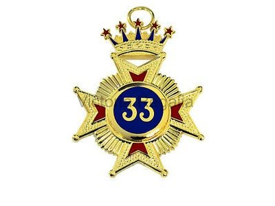 33rd Degree Star Jewel - English Constitution