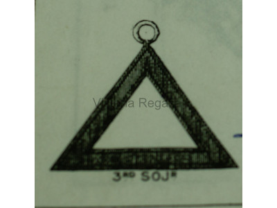 3rd Sojourner Royal Arch Office Bearers Collar Jewel - Scottish