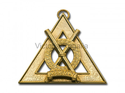 Royal Arch Officers Collar Jewel Assistant Director of Ceremonies - English Constitution