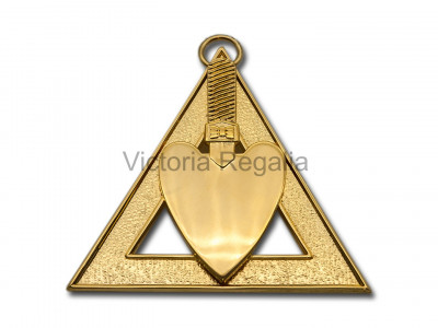 Royal Arch Officers Collar Jewel Charity Steward - English Constitution