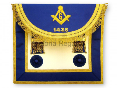 Master Masons Dress Apron Style No.4 - SCOTTISH MASON