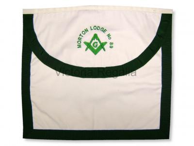 Fabric Material Working Apron - SCOTTISH MASON