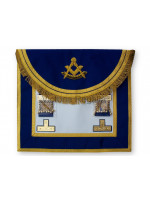 Past Masters Dress Apron Style No.4 - SCOTTISH MASON