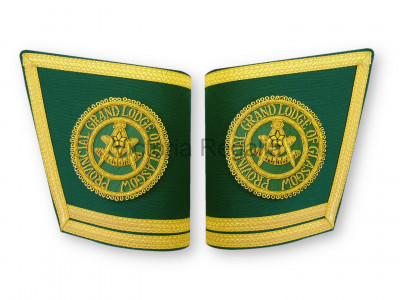 Provincial  or District Grand  Gauntlets  - SCOTTISH MASON