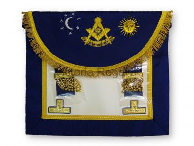 Right Worshipful Masters Dress Apron Style No.2 - SCOTTISH MASON