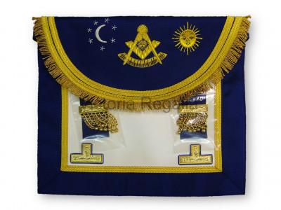 Right Worshipful Masters Dress Apron Style No.3 - SCOTTISH MASON