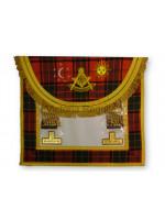 Right Worshipful Masters Dress Apron Style No.4 - SCOTTISH MASON