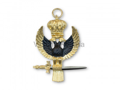 32nd Degree Collarette and Jewel Set - English Constitution