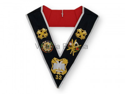 E.C Rose Croix 32nd Degree Collar - English Constitution