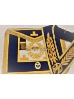Grand Lodge Full Dress Apron, Collar and Collar Jewel - English Constitution
