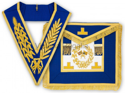 Grand Lodge Full Dress Apron and Collar - English Constitution