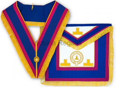 Mark Provincial Apron & Collar Full Dress Set - Standard - English Constitution