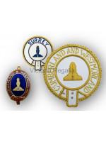 Mark Provincial Apron Badge Set - English Constitution