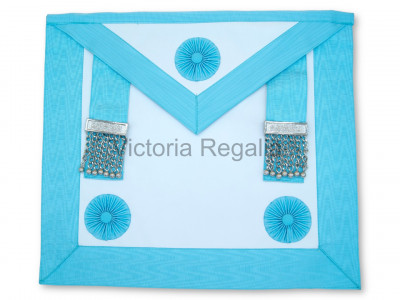 Master Mason Apron - Lamb Skin - Finest- English Constitution