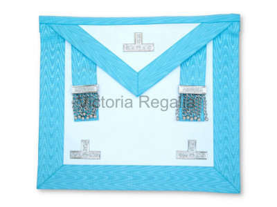 Worshipful Master Apron - Lambine - Standard -  English Constitution
