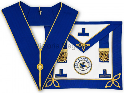 Prov. & Dist. Undress Set - Apron, Collar and Badge - English Constitution