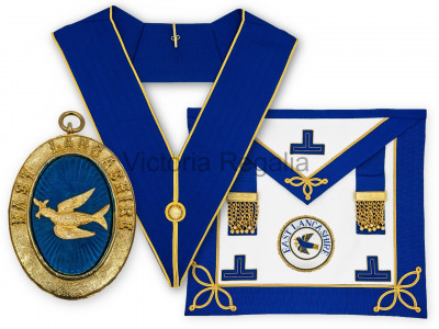 Prov. & Dist. Undress Set - Apron, Collar, Badge and Jewel - English Constitution