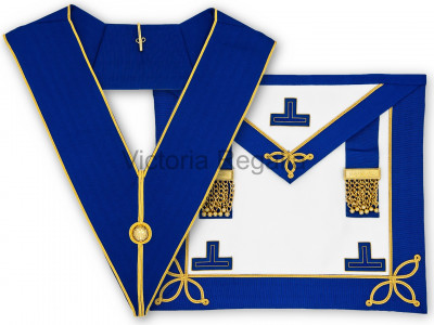 Prov. & Dist. Undress Set - Apron and Collar - English Constitution
