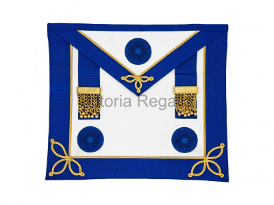 Prov. & Dist. Undress Apron Only with Rosettes - English Constitution