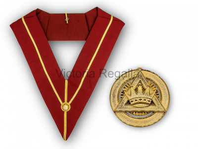 Royal Arch PZ Collar and Jewel - English Constitution