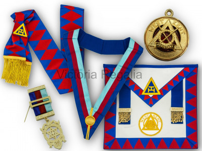Royal Arch Provincial & District Complete Set - English Constitution