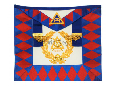 Supreme Grand Chapter Apron Finest -English Constitution