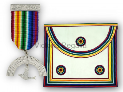 RAM Members Apron and Breast Jewel - English Constitution