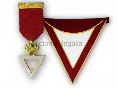 Royal & Select Masters Members Apron and Breast Jewel - English Constitution